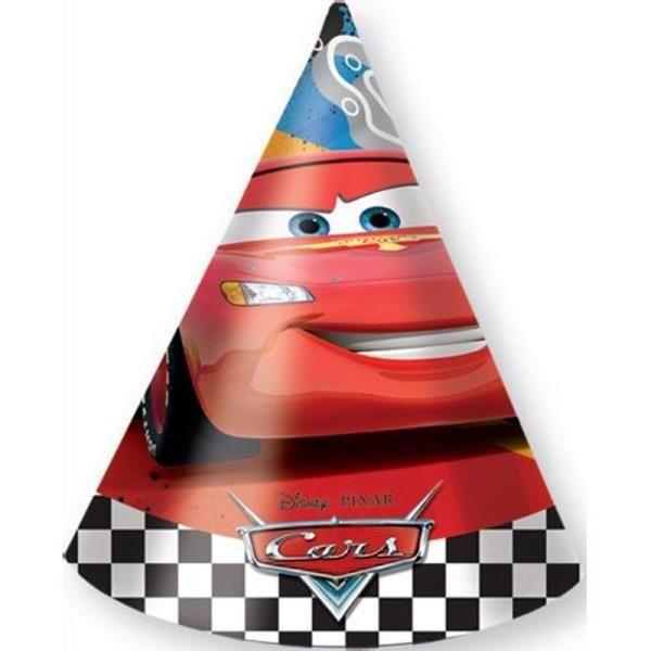 Cars Arabalar Racing Sports Karton Doğum Günü Şapkası ile çocuklar daha çok keyiflenecektir.