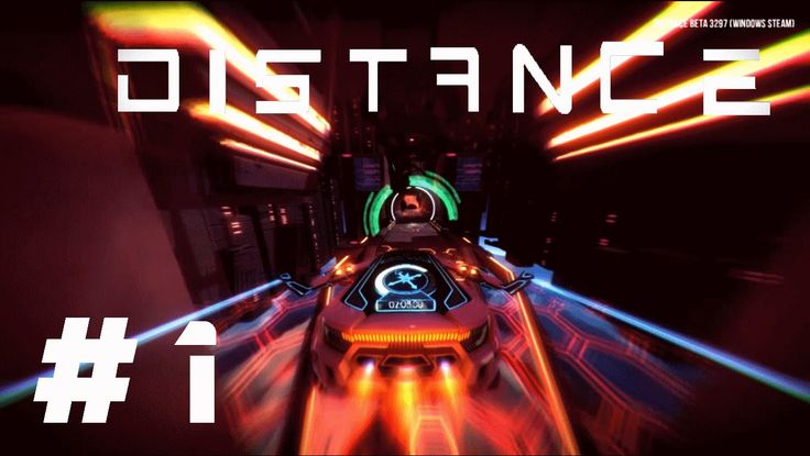 Distance (Beta) describes itself as a survival racing game where you boost, jump, and fly your way through different areas. Join me for a let's play as I explore this world.