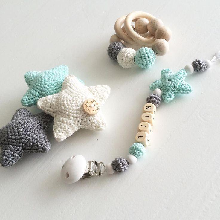 || We Love Mint !! || #angelshandmade #handmade #haken #hakeniship #crochet…