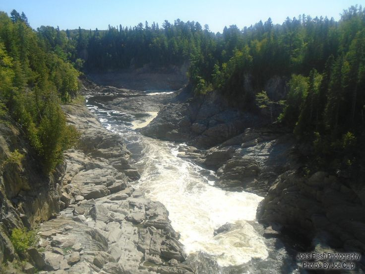 The Rocky gorge in Grand Falls New Brunswick August 28, 2017