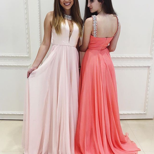 1000+ Ideas About Long Coral Dresses On Pinterest