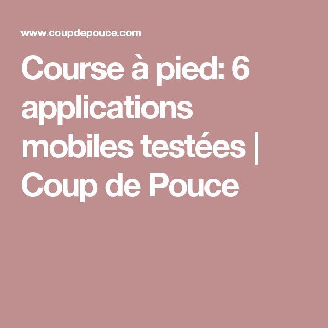 course pied 6 applications mobiles testes coup de pouce