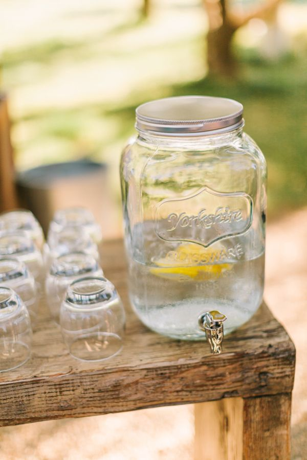 beverage container http://www.weddingchicks.com/2013/11/26/winery-destination-wedding/