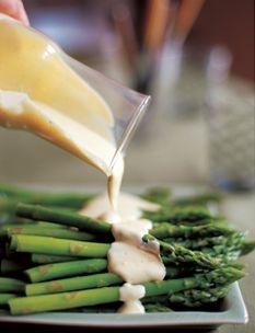Barefoot Contessa - Recipes - Asparagus with Hollandaise