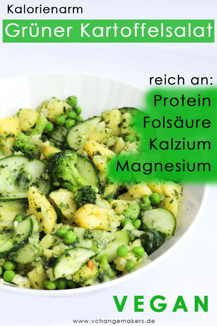 Rezept: Grüner Power Kartoffelsalat – kalorienarm – vegan – Beste Gesunde Rezepte – Gruppenboard