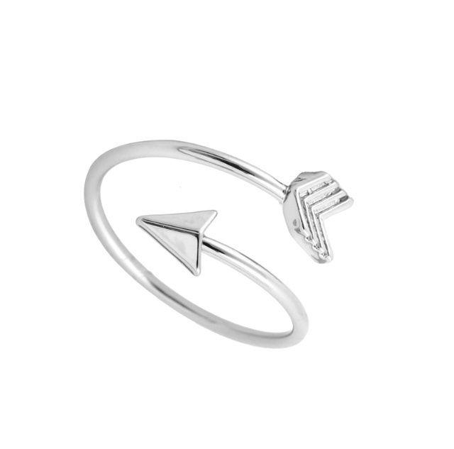 Ring Arrow - Zilver  Ring pijl