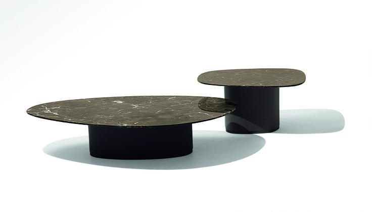 Galet coffe table Design for Giorgetti by Ludovica + Roberto Palomba