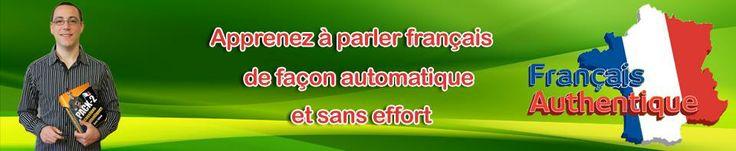 apprenez à parler français