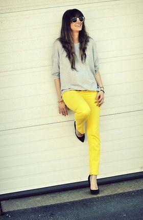 秋冬ファッションに華やかさを演出してくれる♡『カラーパンツ』のおすすめコーデ術♡ - NAVER まとめ
