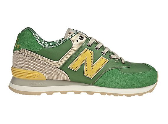Surfer 574, Green with Tan & Yellow