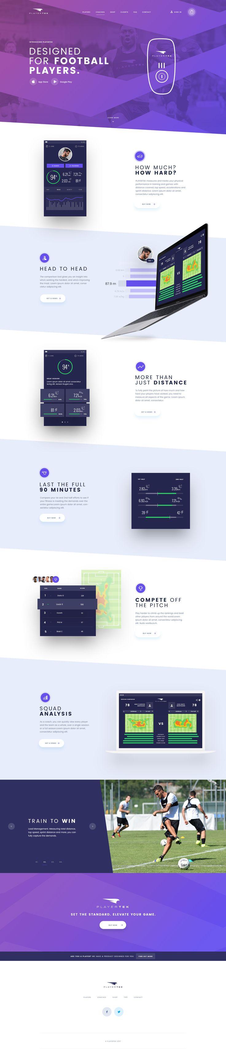 mobile website design templates