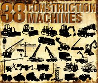 Vector Construction Machines