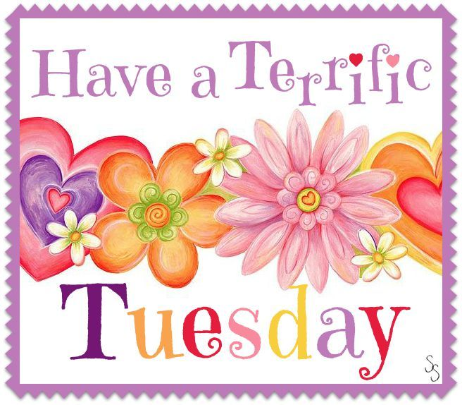 * Have a Terrific  Tuesday
