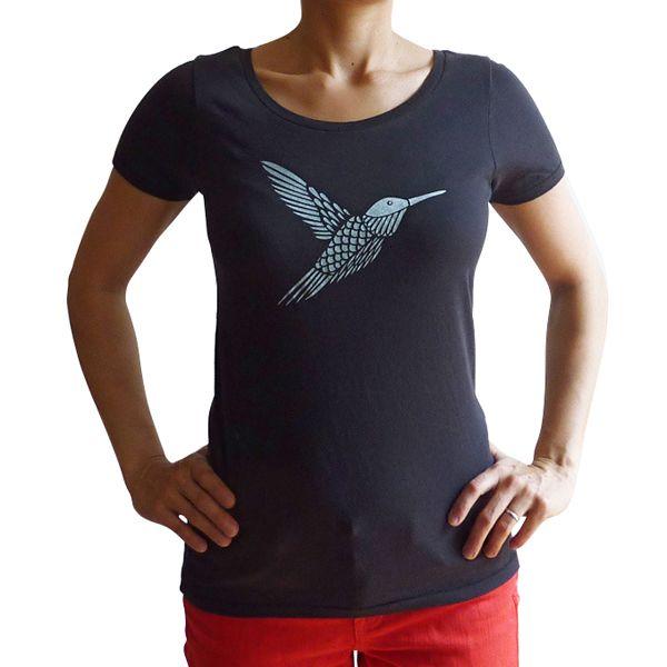 Organic Hummingbird Tshirt