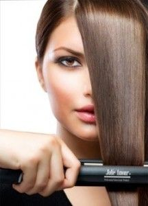 3.Professional Ceramic Flat Iron Hair Straightener