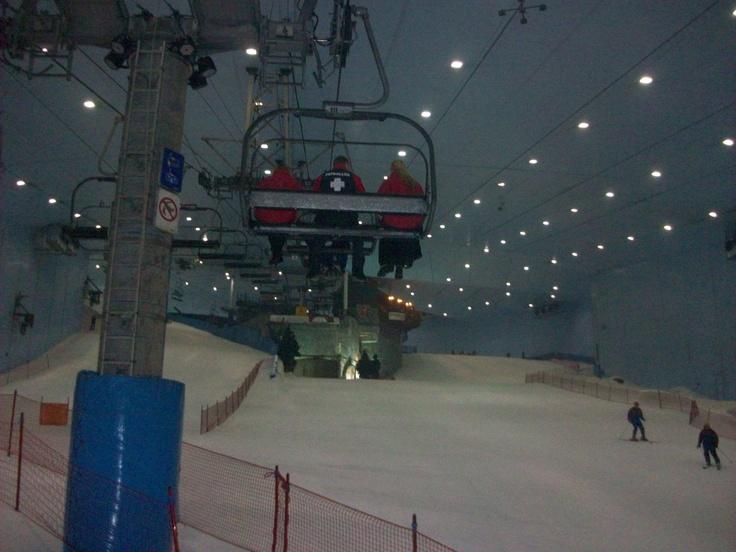 Het uitzicht vanuit de skilift #NHTV #3MTT