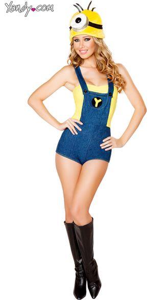 Sexy minion costume