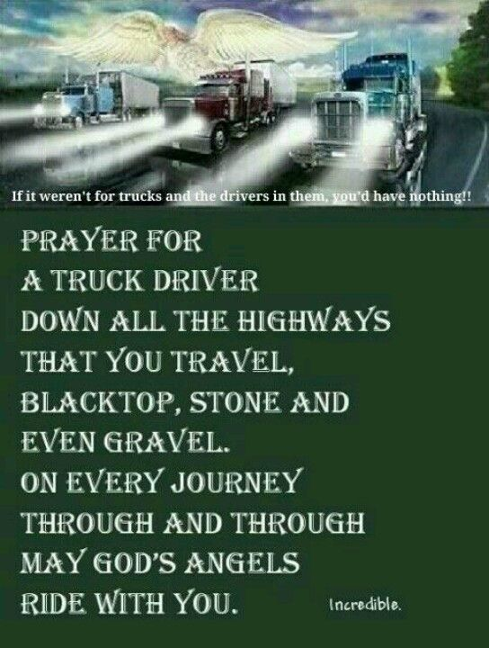 Trucker prayer | Etsy