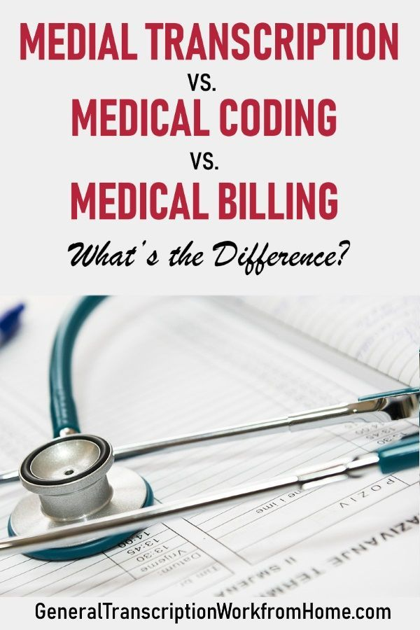 medical transcription work from home medical transcription vs medical coding vs medical billing 6768