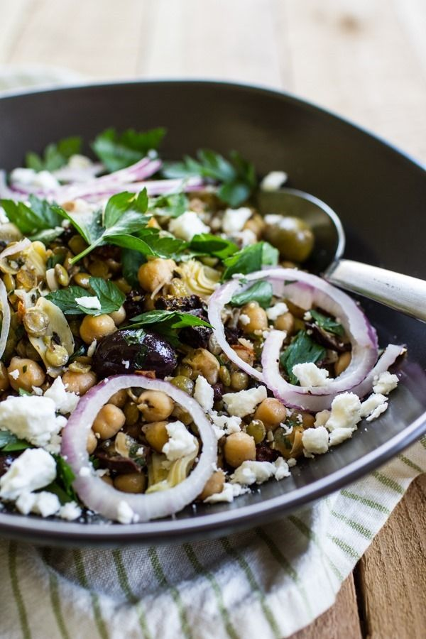 This is going to be your new weekday salad staple. It's just so versatile. And the flavor!! ...