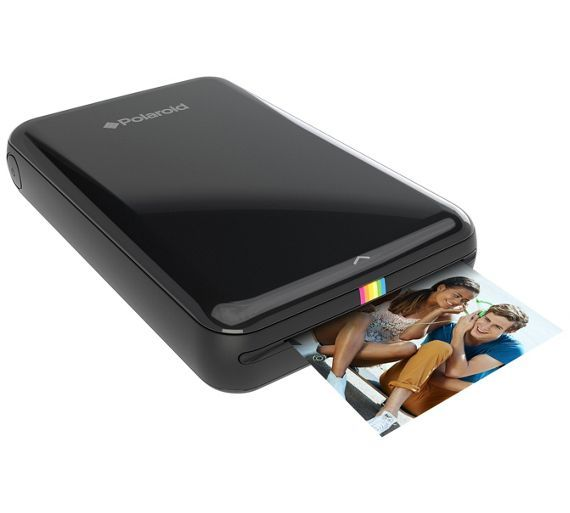 Buy Polaroid Zip Instant Print Mobile Printer & 10 Shots - Black at Argos.co.uk - Your Online Shop for Digital photo printers, Digital photo printers and consumables, Cameras and camcorders, Technology.