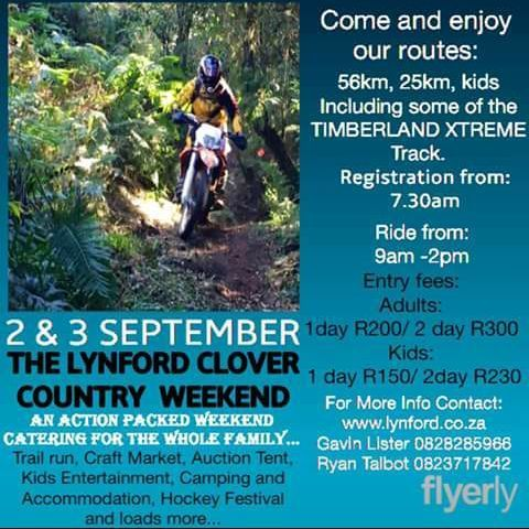 Don't forget the Lynford Country weekend is coming up....Book your accommodation with Belmont Conference and Wedding Venue @belmontbnbkzn