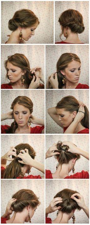 diy short hairstyles for black hair #Diyhairstyles