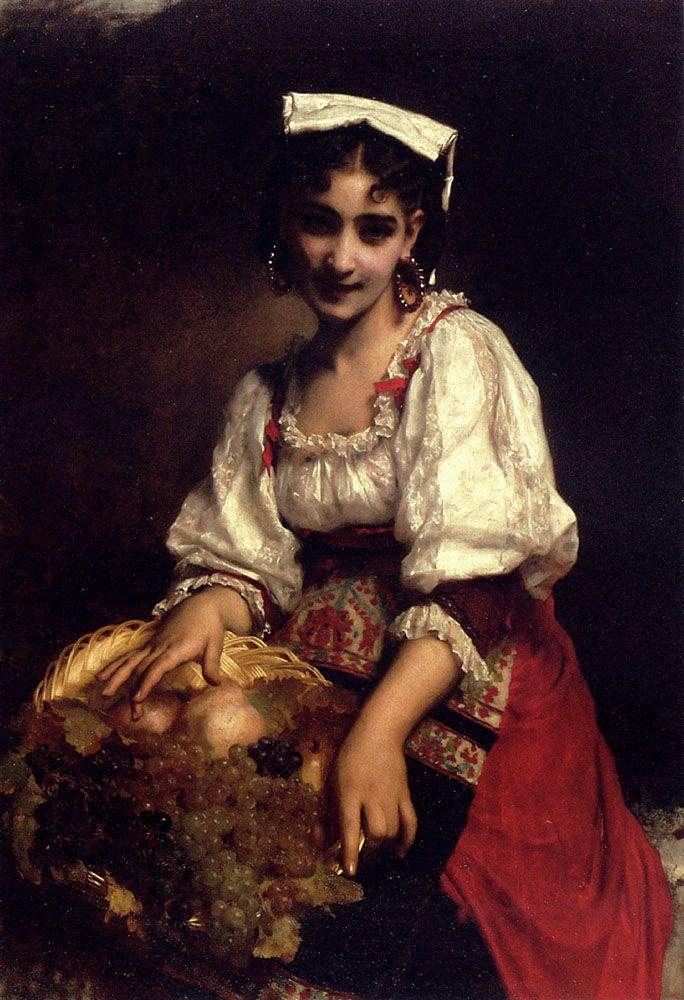 Etienne Adolphe Piot, Una bellezza italiana