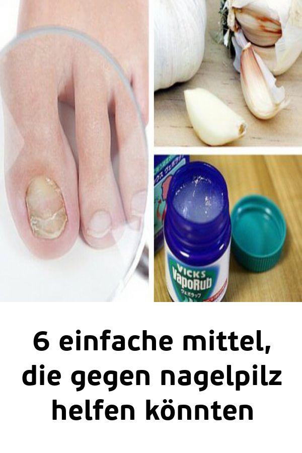 6 einfache mittel die gegen nagelpilz helfen könnten