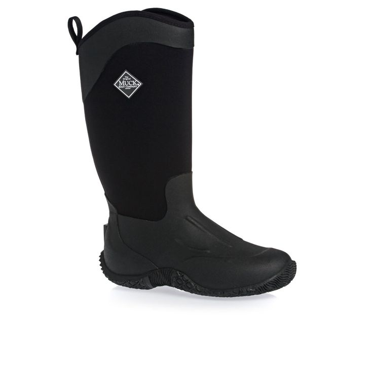 Muck Boot Tack Wellington Boots - Black | Free UK Delivery