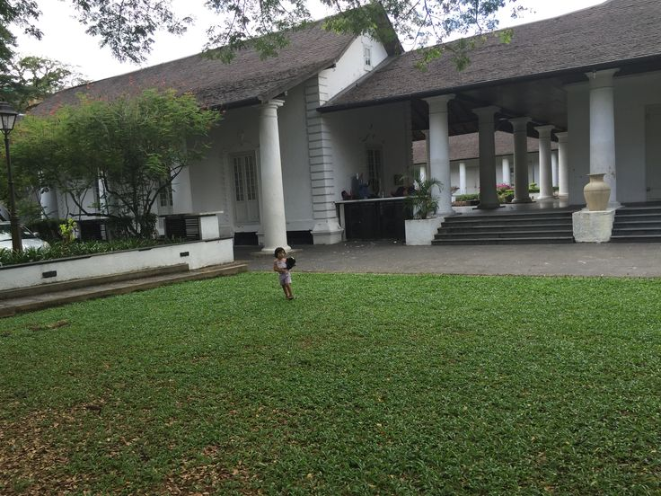 Running and tumbling space just across Magna Carta restaurant at the Old Courthouse, Kuching