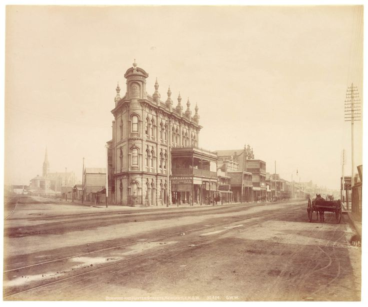 Burwood and Hunter Streets, Newcastle
