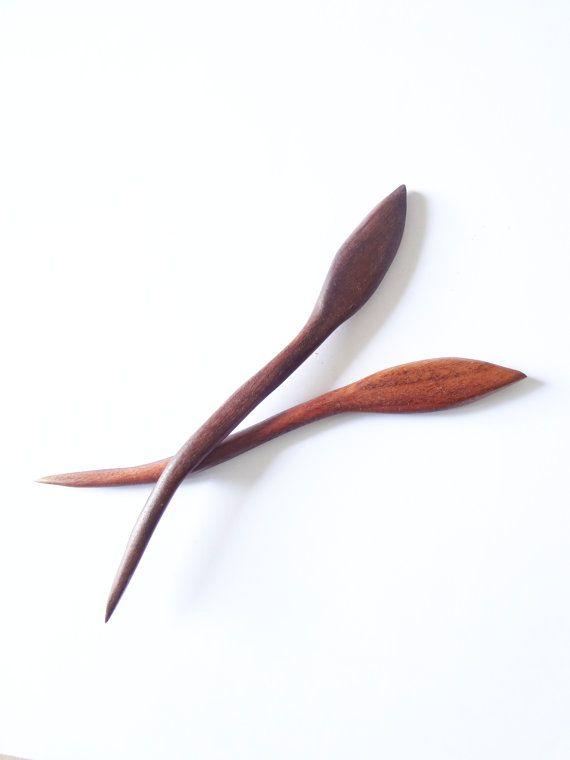 Walnut wood double hair stick by theancientmuse on Etsy, $25.00: Walnut Hair, Walnut Wood, 29 00, Hairs, Double Hair, Etsy Lists, Hair Sticks, Awesome Etsy, Wood Double