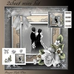 Silver Wedding on Craftsuprint - View Now!