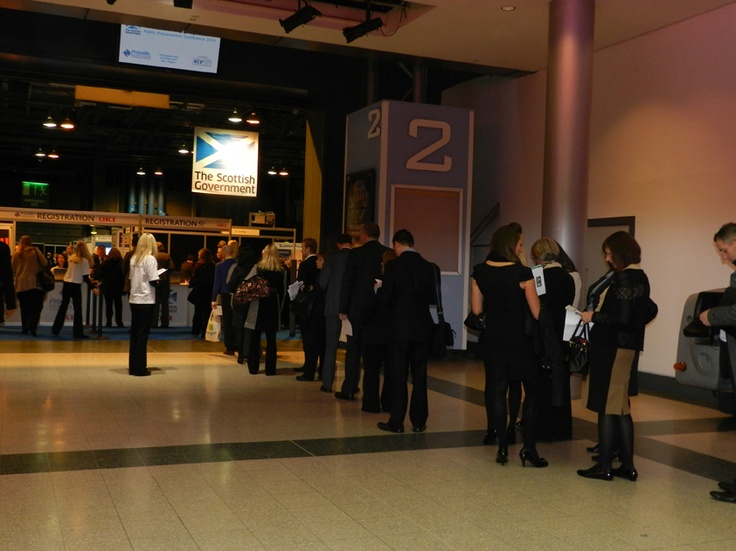 The crowds gather for the biggest procurement show in town
