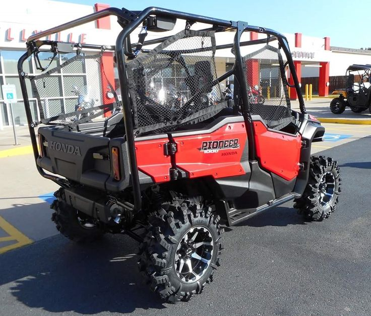 Big Four Wheelers >> Custom 2016 Honda Pioneer 1000 & 1000-5 Pictures / Photo Gallery | Honda-Pro Kevin | Dan | Honda ...