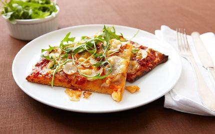 Pizza med jordärtskockor