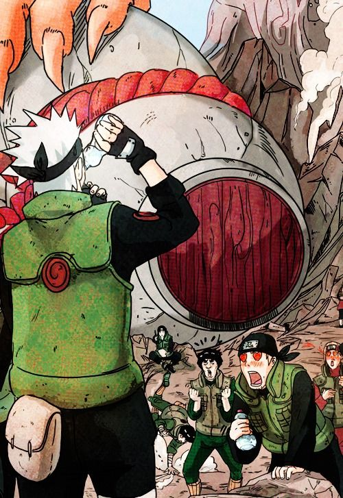 Haha XD you see how Kakashi is without his mask and people have already fallen in love with him XD