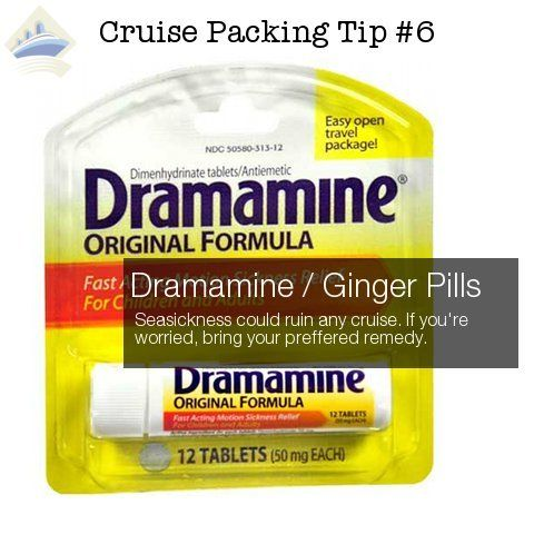 Motion sickness is one of the worst feelings you can have.  And the captain isn't going to slow down because you're hugging a toilet.  Even if you've never experienced seasickness, you might want to bring Dramamine or ginger pills just in case.