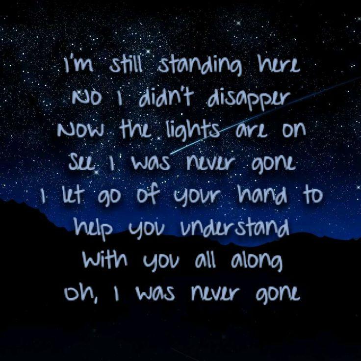 Never Gone-Colton Dixon