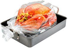 Instructions and tutorial on how to cook a turkey in an oven bag, and have it turn out flavorful and super moist!
