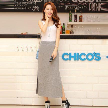 Long cute skirt