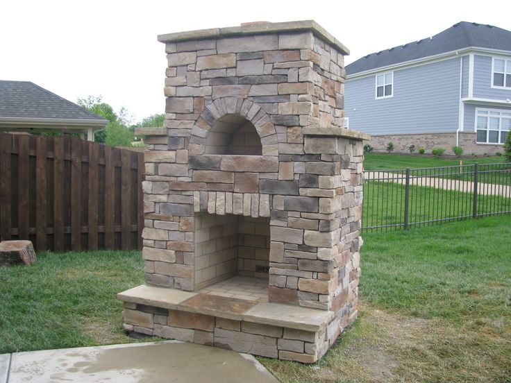 Fireplace With Pizza Oven Fireplace Retaining Wall 400 x 300