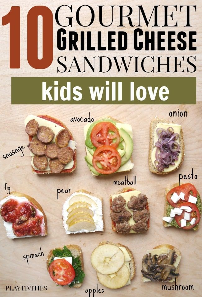 Fun gourmet grilled cheese recipes for kids (and adults)