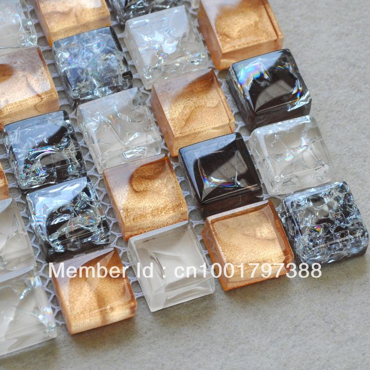 Crystal Glass Mosaic Discount Tile Kitchen Backsplash Glass Mosaic Wall  Tiles CKMT010 Deco Mesh Swimming Pool