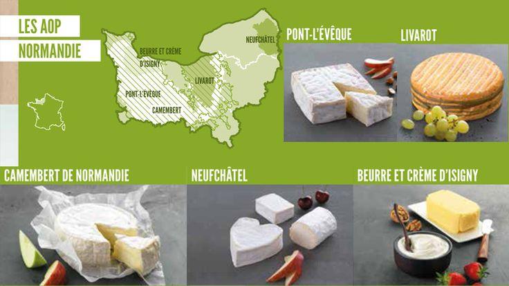 fromages normands | En savoir plus sur les Fromages AOP
