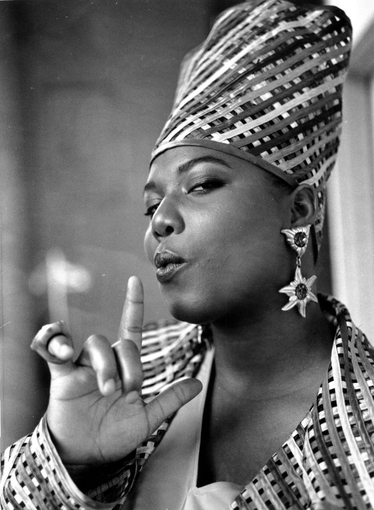 Queen Latifah...when Hip Hop was Hip Hop. Vulgarity wasn't used to sell records.