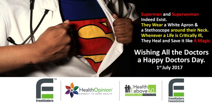 For All the Lives They Save... And the All Bodies They Heal... We take this Opportunity to Wish All the Doctors Out There - a Very #HappyDoctorsDay! The World Believes In You!