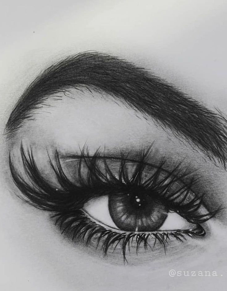 36 Awesome Eye Drawing Images ! How to draw a realistic eye! Part 13