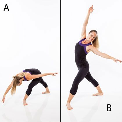 Try this workout plan that combines kickboxing training and ballet dance to sculpt a lean ballerina body.